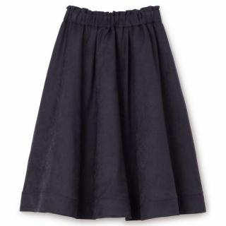 Supreme.La.Laのネイビーのスエードリバーシブルスカート