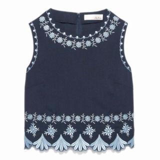 2016年春夏のボヘミアンスタイルを作るlilybrownの刺繍トップス