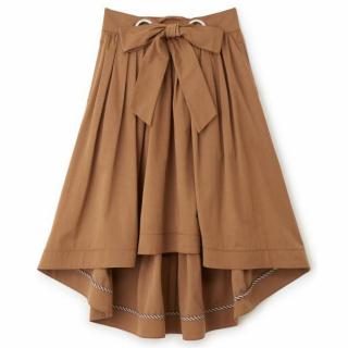 Supreme.La.Laのブラウンのイレヘムスカート