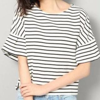 TVドラマ「好きな人がいること」桐谷美玲さん(櫻井美咲)が着ていたボーダートップス