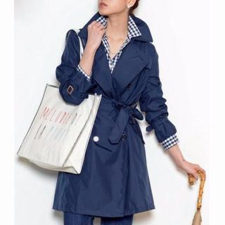 ドラマ「僕のヤバイ妻」相武紗季さん(北里杏南)風オトナ小悪魔コーデのレイントレンチコート