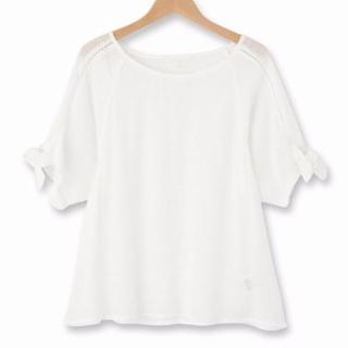 TVドラマ「そして、誰もいなくなった」二階堂ふみさん(倉元早苗)風衣装の白トップス