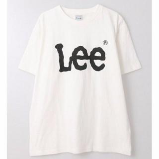 Leeのカジュアル白Tシャツ