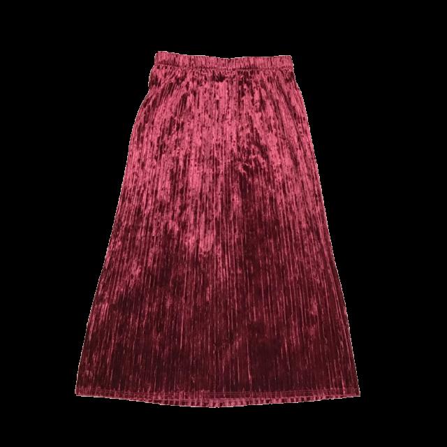 GUのプリーツスカートを使った着回しを募集します。