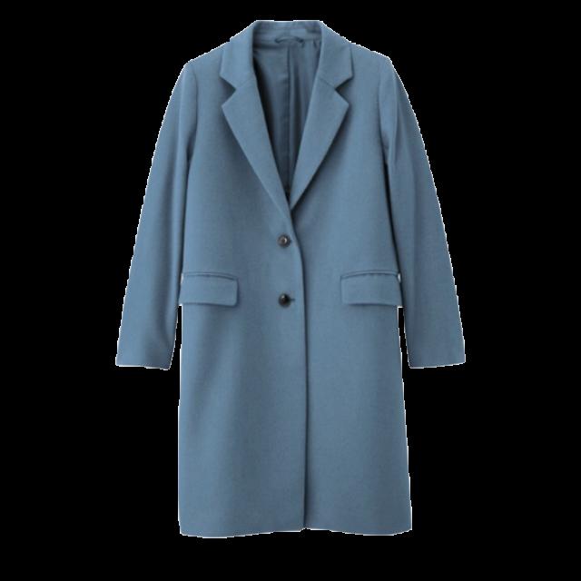 GUのチェスターコートを使った着回しを募集します。