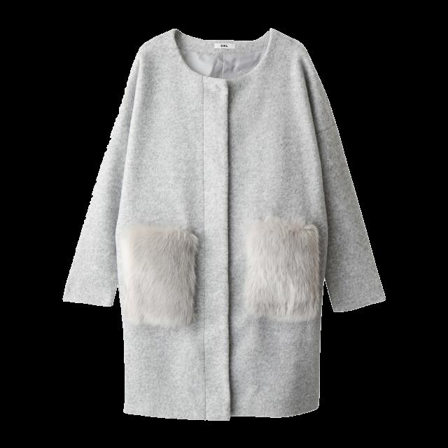 GRLのコートを使った着回しを募集します。