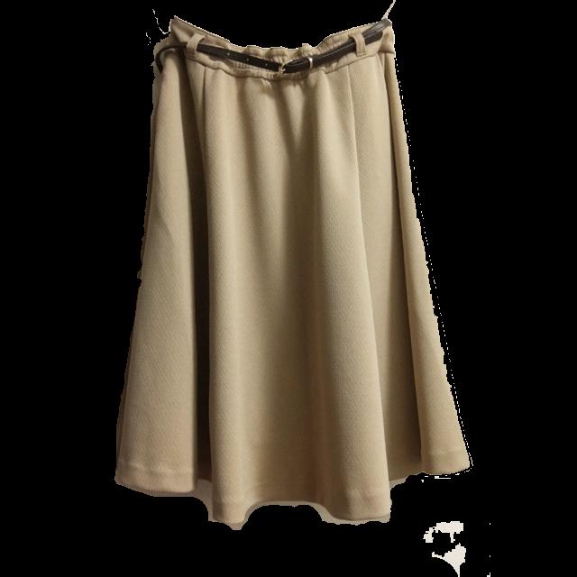 HONEYSのひざ丈スカートを使った着回しを募集します。