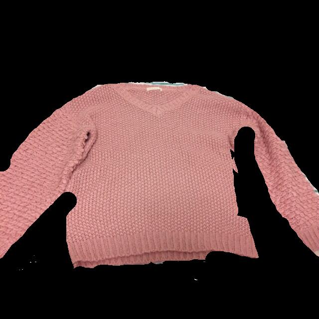 不明のニット/セーターを使った着回しを募集します。