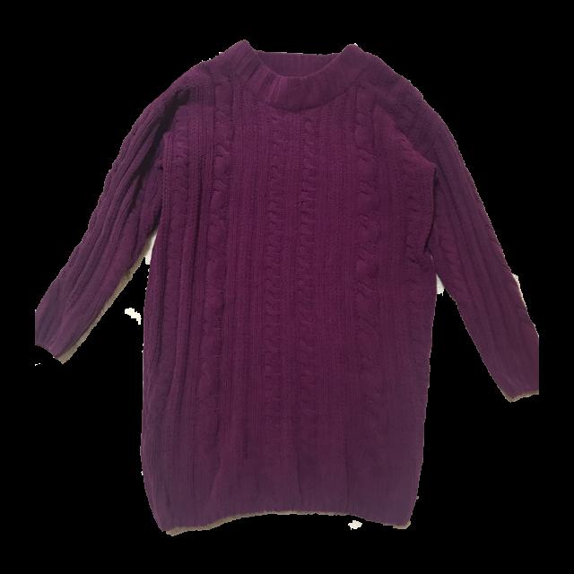 chocol raffine robeのニットワンピを使った着回しを募集します。