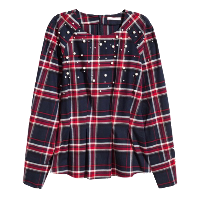 H&MのTシャツ/カットソーを使った着回しを募集します。
