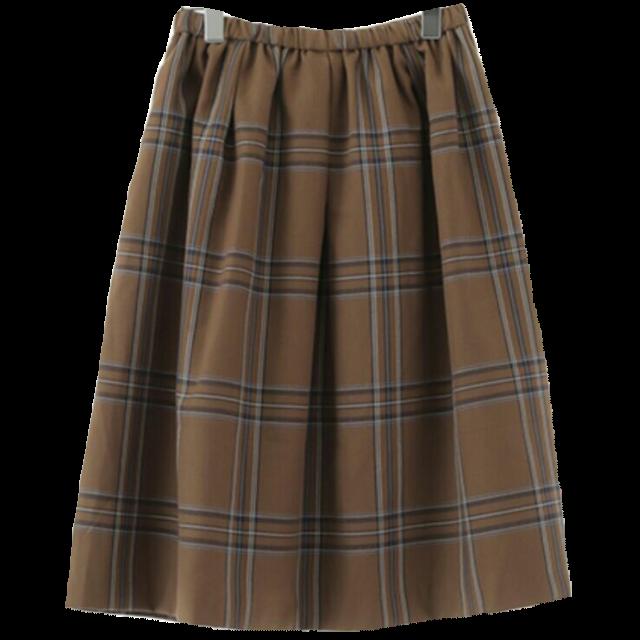 earth music&ecologyのひざ丈スカートを使った着回しを募集します。
