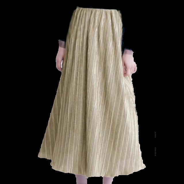 不明のマキシ丈スカートを使った着回しを募集します。
