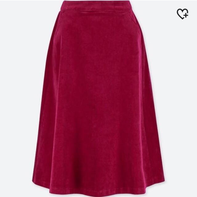 UNIQLOのミモレ丈スカートを使った着回しを募集します。