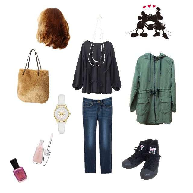「シンプル、休日、BBQ、秋」に関するKBFのシャツ/ブラウス、しまむらのスキニーパンツ等を使ったコーデ画像