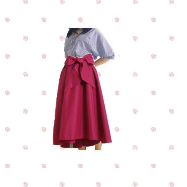 シャツ/ブラウス、toccoのスカート等を使ったコーデ画像