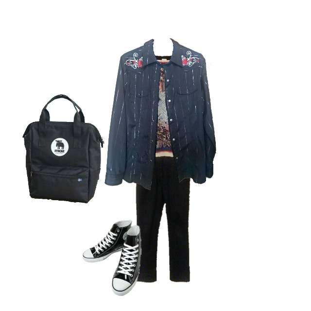 Jean Paul GAULTIERのTシャツ/カットソー、シャツ/ブラウス等を使ったコーデ画像