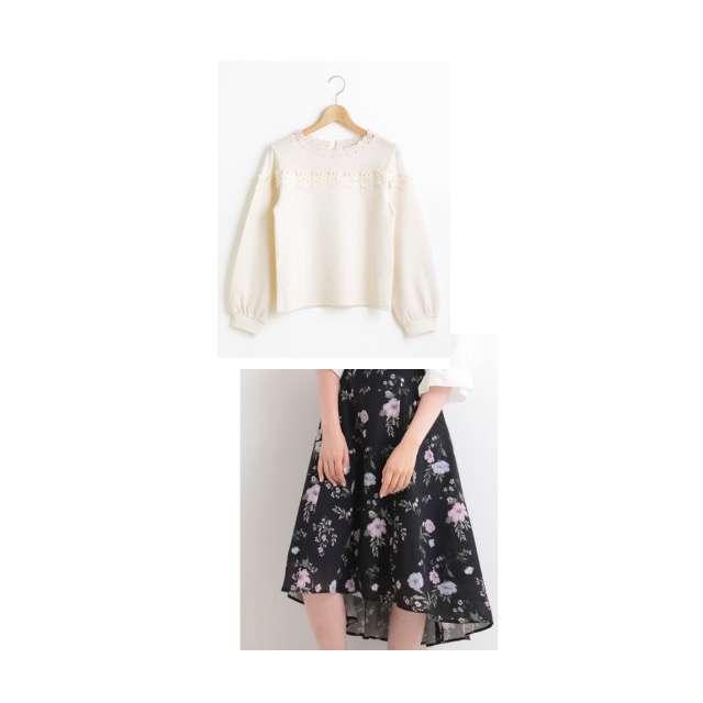 MAJESTIC LEGONのTシャツ/カットソー、MAJESTIC LEGONのミモレ丈スカート等を使ったコーデ画像