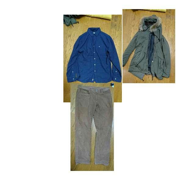 RAGEBLUEのプルオーバー、Arnold Palmerのポロシャツ等を使ったコーデ画像