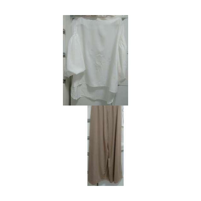 COCAのシャツ/ブラウス、COCAのガウチョパンツ等を使ったコーデ画像