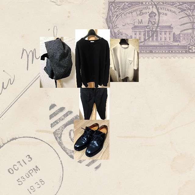 「カジュアル、学校」に関するGUのTシャツ/カットソー、GUのパーカー/スウェット等を使ったコーデ画像