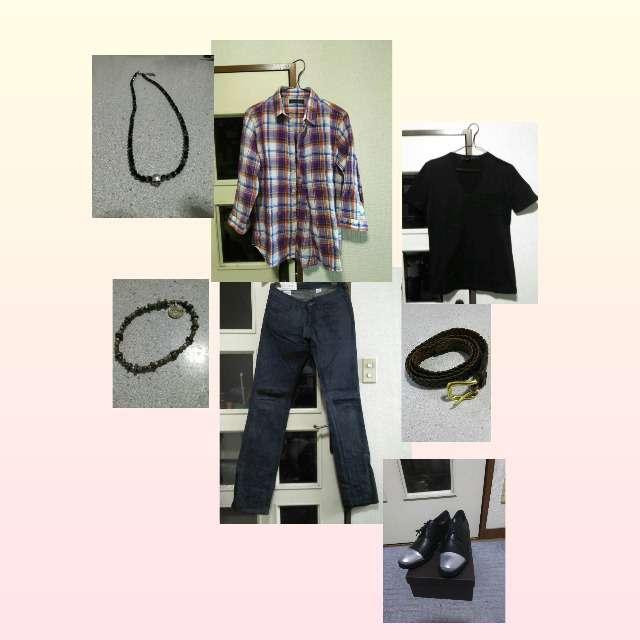 NO ID.のTシャツ/カットソー、CUSTOM CULTUREのシャツ/ブラウス等を使ったコーデ画像