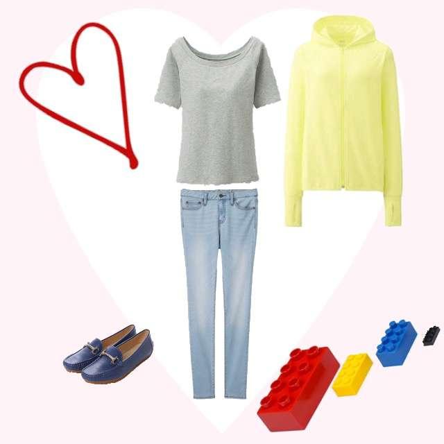 「シンプル、おでかけ、日焼け対策、UNIQLO、GU」に関するUNIQLOのTシャツ/カットソー、UNIQLOのパーカー/スウェット等を使ったコーデ画像