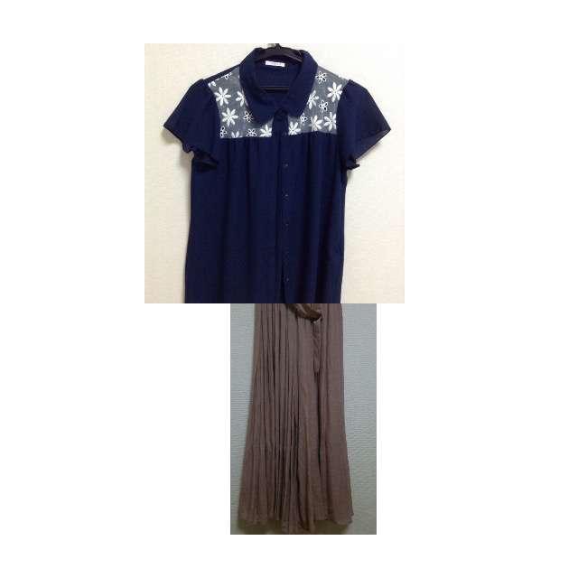 Tシャツ/カットソー、SUZUTANのチュールスカート等を使ったコーデ画像