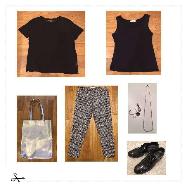 「シンプル、オフィス、アラフィフ」に関するVINCEのシャツ/ブラウス、キャミソール/タンクトップ等を使ったコーデ画像