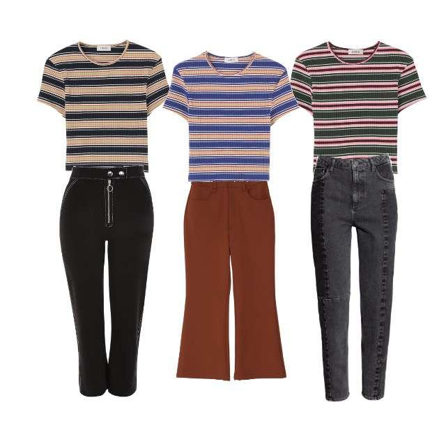 EVRISのTシャツ/カットソー、EVRISのTシャツ/カットソー等を使ったコーデ画像