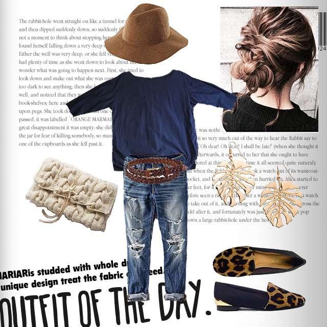 「シンプル、休日、ナチュラル・リラックス、お散歩、秋」に関するUNIQLOのシャツ/ブラウス、American Eagleのデニムパンツ等を使ったコーデ画像