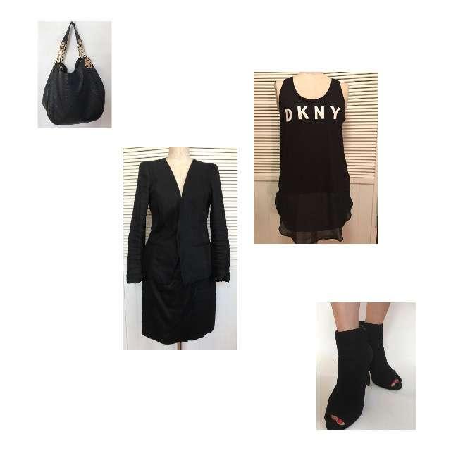 DKNYのキャミソール/タンクトップ、DKNYのスーツ等を使ったコーデ画像