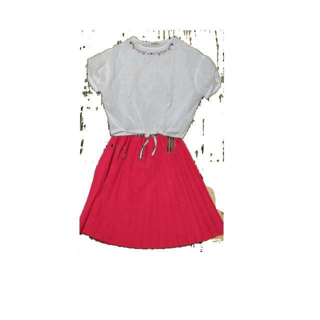 シャツ/ブラウス、プリーツスカート等を使ったコーデ画像