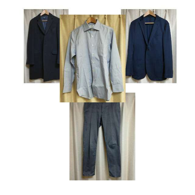 UNIQLOのシャツ/ブラウス、UNIQLOのチノパン等を使ったコーデ画像