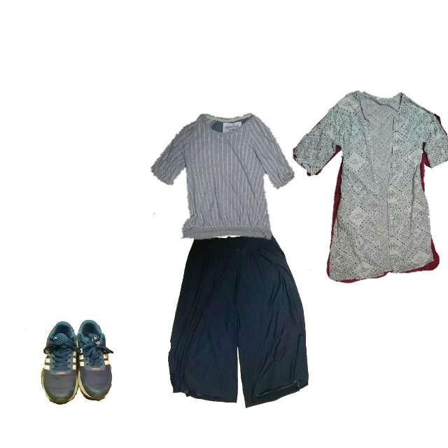 AvailのTシャツ/カットソー、Paletteのカーディガン等を使ったコーデ画像