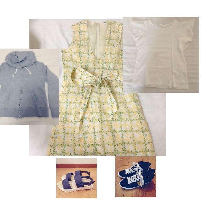 ROPE' PICNICのTシャツ/カットソー、パーカー/スウェット等を使ったコーデ画像