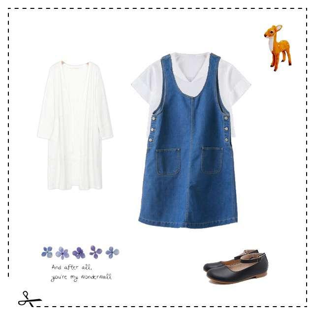 「古着MIX・ヴィンテージ、セーラー襟」に関するEhyphen world galleryのTシャツ/カットソー、サロペット・オーバーオール等を使ったコーデ画像