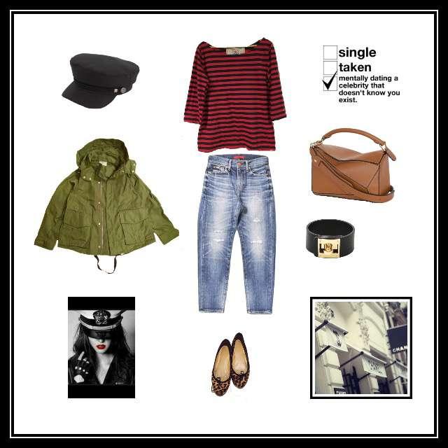 L'AppartementのTシャツ/カットソー、RED CARDのデニムパンツ等を使ったコーデ画像