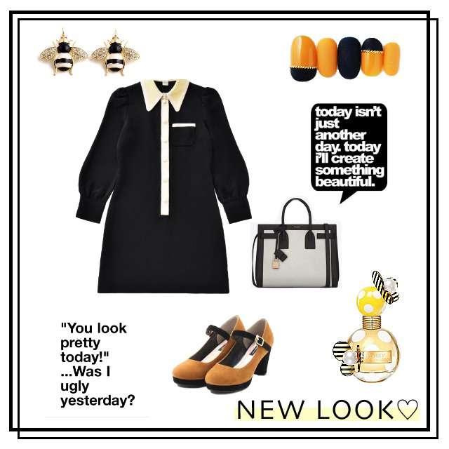 「ガーリー・フェミニン、おでかけ」に関するMarc by Marc Jacobsのシャツワンピ、PAGEBOYのローファー等を使ったコーデ画像