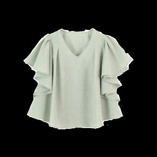 このコーデで使われているtitivateのシャツ/ブラウス[グリーン]