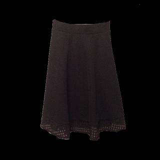 このコーデで使われているひざ丈スカート[ブラック]