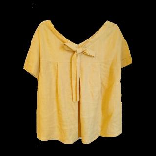 このコーデで使われているnano・universeのシャツ/ブラウス[イエロー]