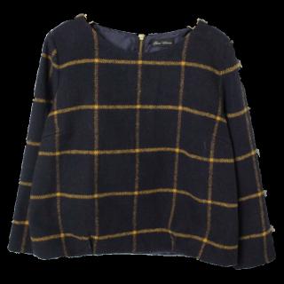 このコーデで使われているnano・universeのTシャツ/カットソー[ネイビー/オレンジ]