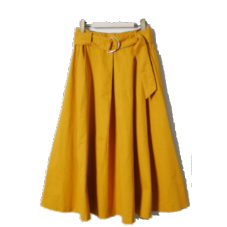 RETRO GIRLのフレアスカート