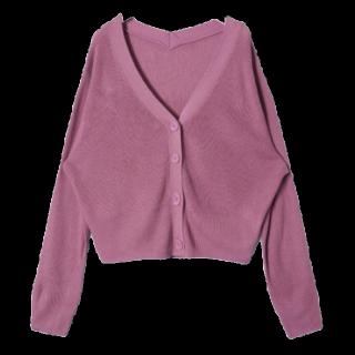 このコーデで使われているRETRO GIRLのカーディガン[ピンク]