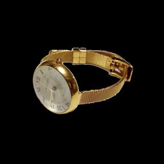 このコーデで使われているdholicの腕時計[ゴールド]