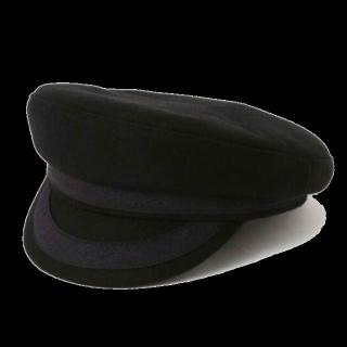 このコーデで使われているROSE BUDの帽子[ブラック]