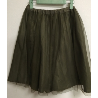 salusのひざ丈スカート