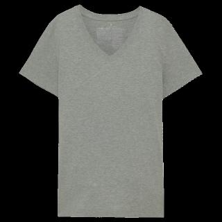 このコーデで使われているMUJI(無印良品)のTシャツ/カットソー[グレー]