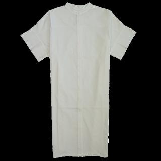 このコーデで使われているKBFのシャツワンピ[ホワイト]