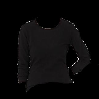 このコーデで使われているMUJIのTシャツ/カットソー[ブラック]